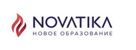 Логотип компании ООО «Новатика»